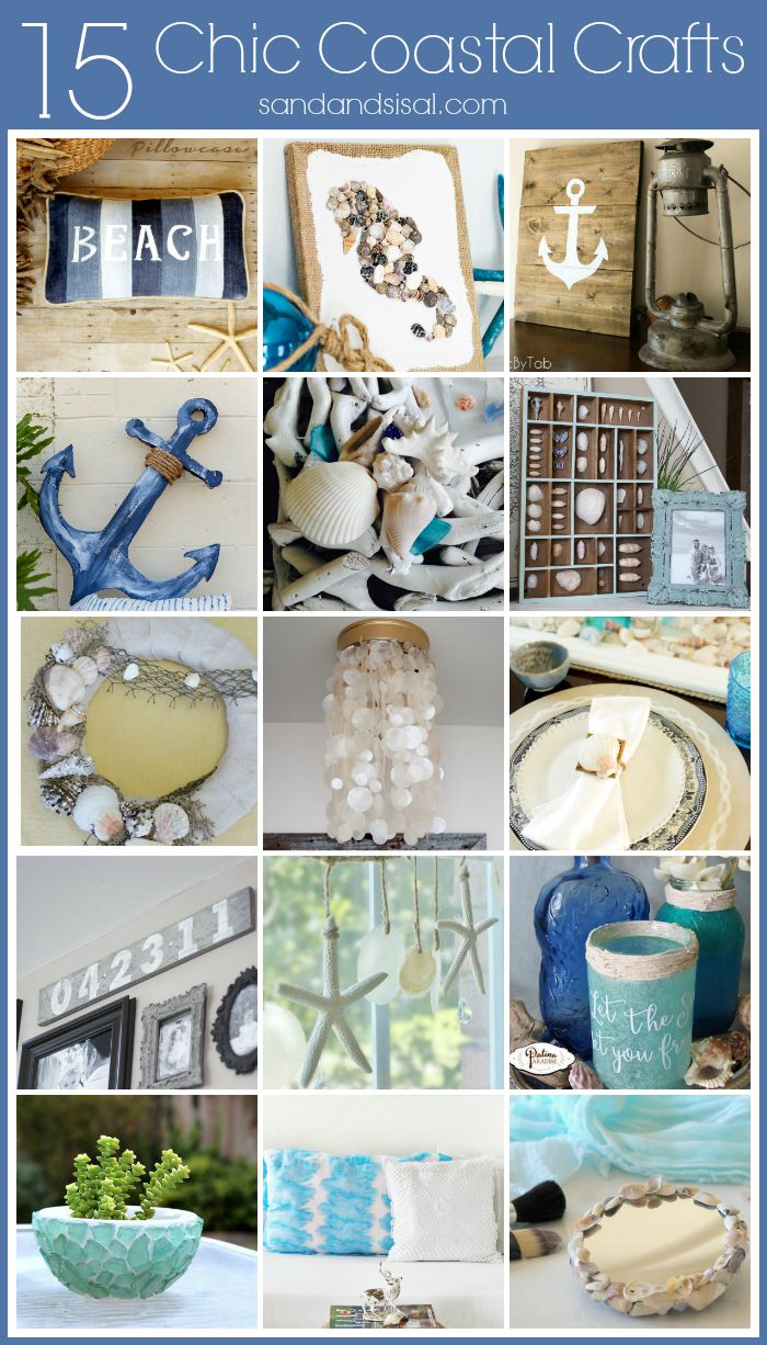 15 Chic Coastal Crafts For The Home Sand And Sisal