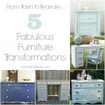 Trash to Treasure: 5 Fabulous Furniture Transformations