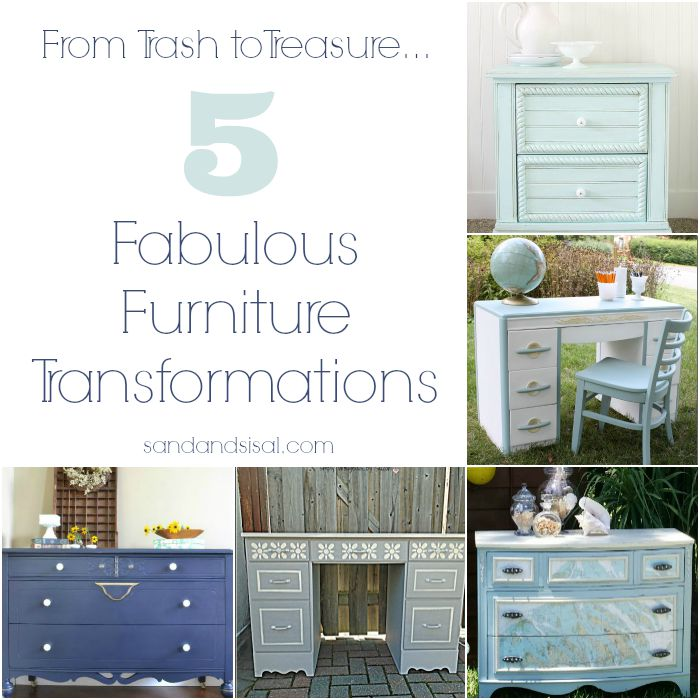 5 Fabulous Furniture Transformations