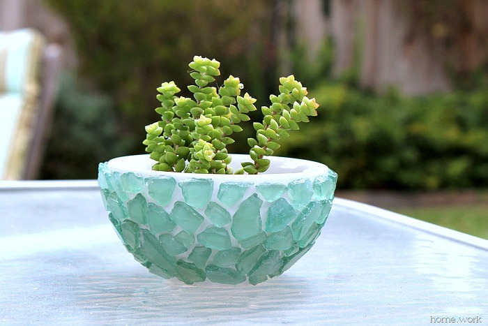 Sea-Glass-Succulent-Bowl
