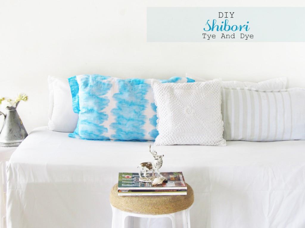Shibori-Tie Dye Pillow Covers
