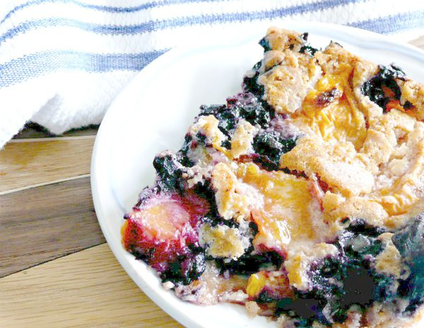 Blueberry Peach Fruit Salad With Thyme Recipes — Dishmaps