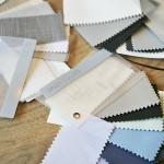 Pella Fabric swatches