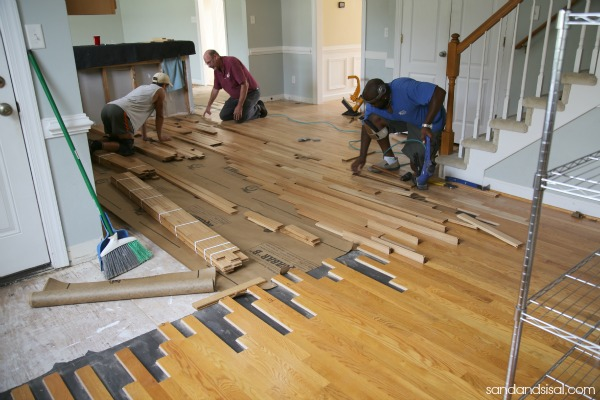 Feathering in Hardwood flooring