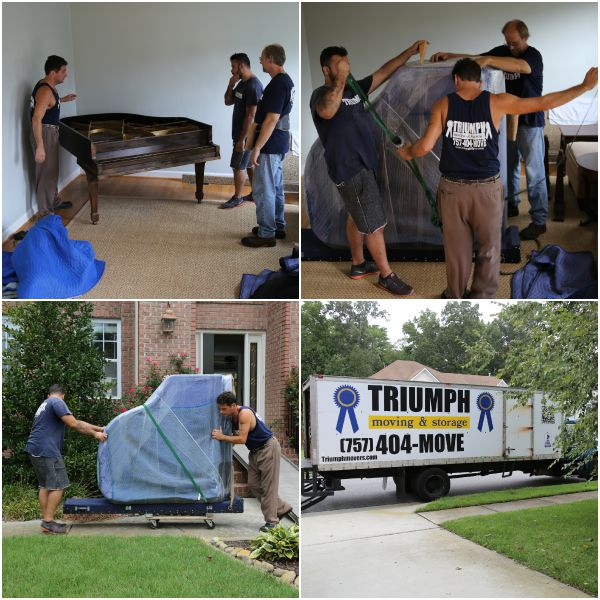 Moving a Baby Grand Piano - Triumph Moving and Storage