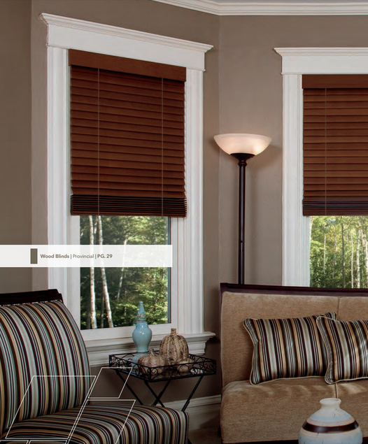 Pella Wood Blinds
