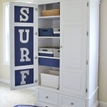 Chalk Paint® Armoire Makeover- Boys' Surf Themed Room
