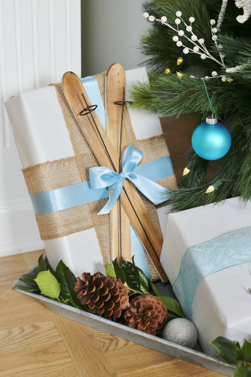Creative christmas gift wrapping ideas sand and sisal for Creative christmas ideas