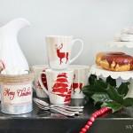 Christmas Hot Chocolate + Donunt Station