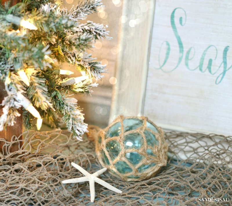 Glass Bouy Ornaments - Nautical Christmas Decor
