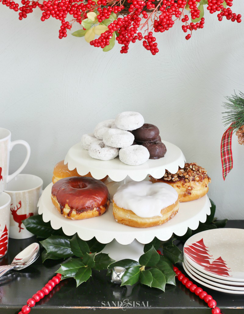 Holiday Donut Bar