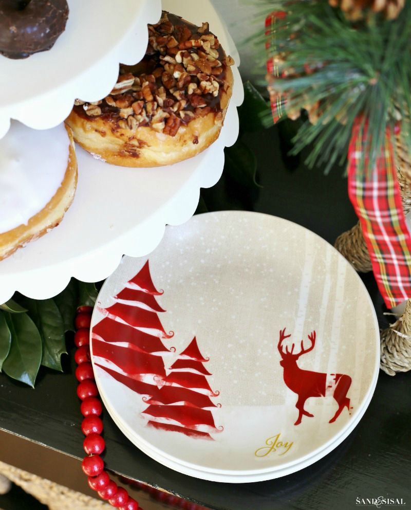 Holiday Entertaining - Christmas Cocoa & Donut Bar