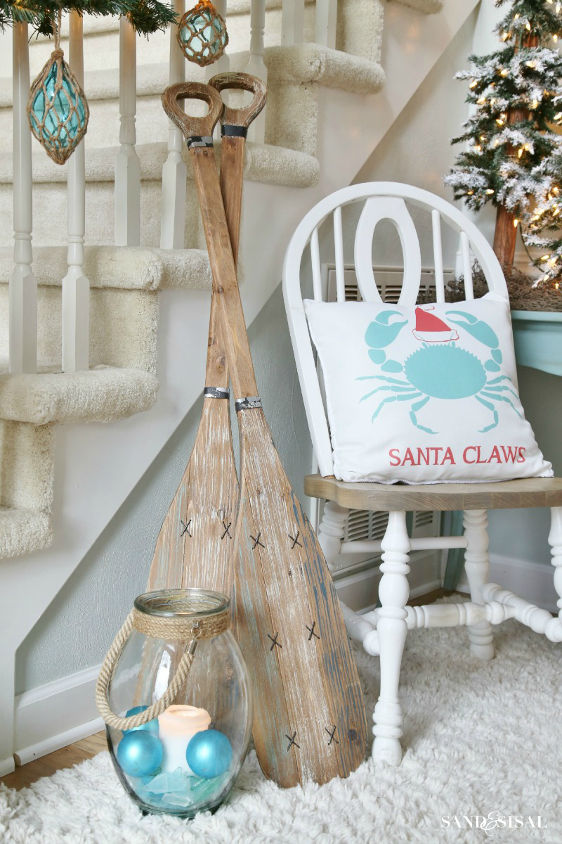 A Coastal Christmasland - Sand and Sisal