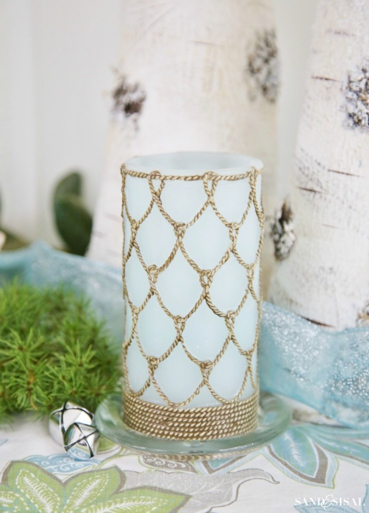 Nautical Rope Candle