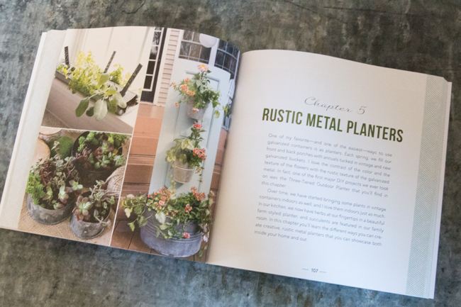 Rustic-Metal-Planters