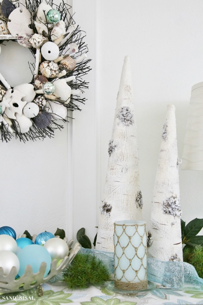 Seas and Greetings - Coastal Christmas Decor Ideas