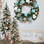 Seas and Greetings - Coastal Christmas Wreath