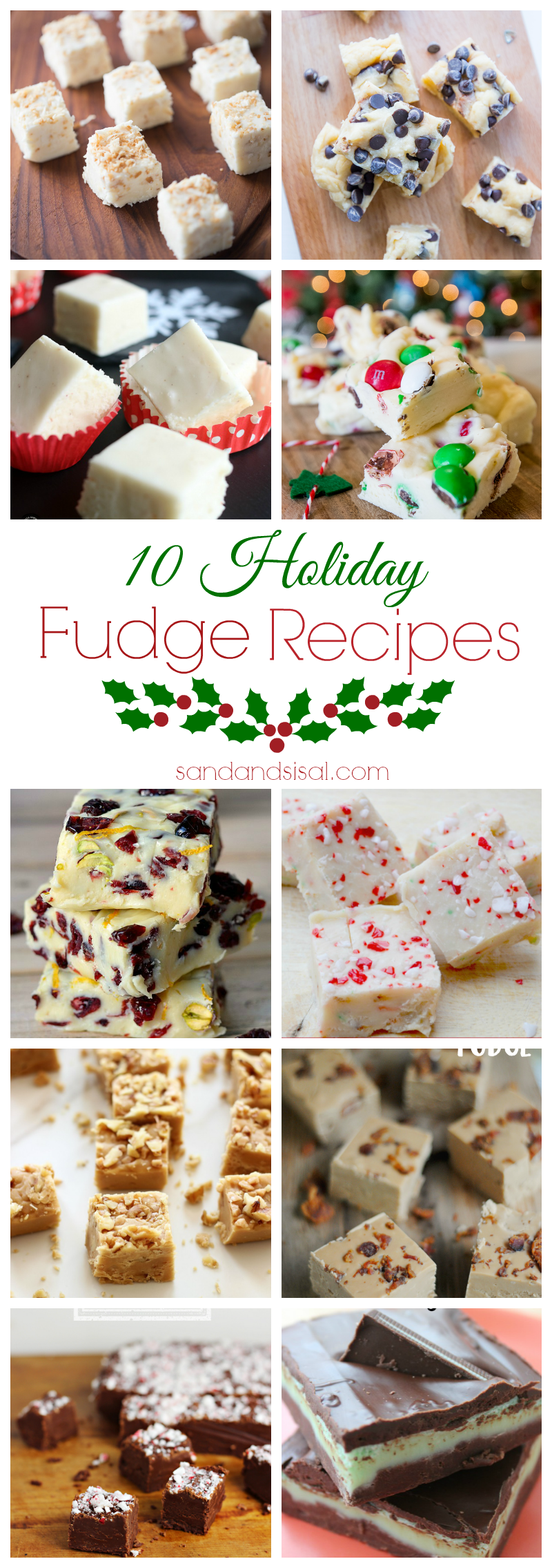 10 Holiday Fudge Recipes