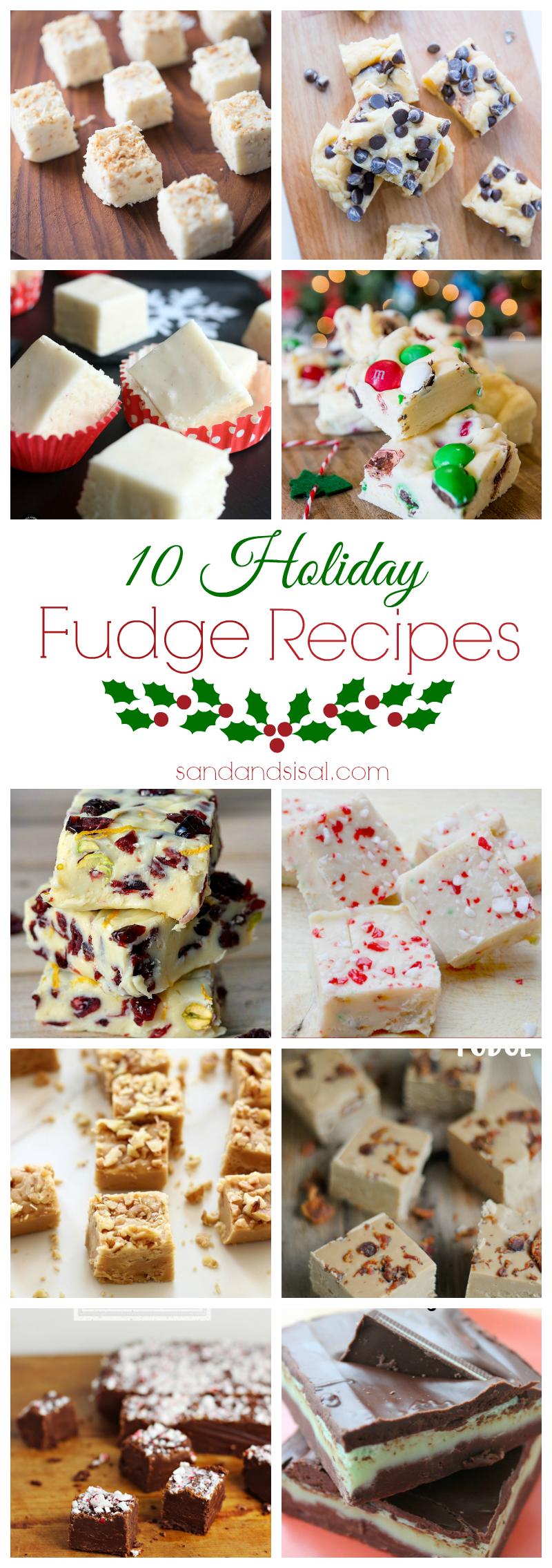 10 Holiday Fudge Recipes