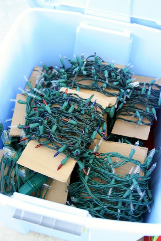 Christmas Decor Storage ideas