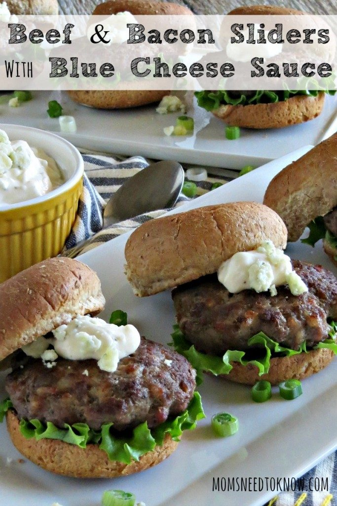 Beef-and-Bacon-Sliders-with-Blue-Cheese-Sauce