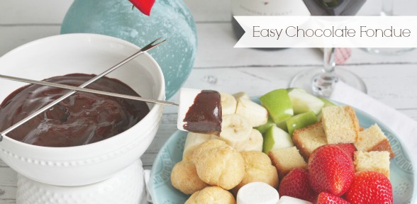 Chocolate Fondue - slide