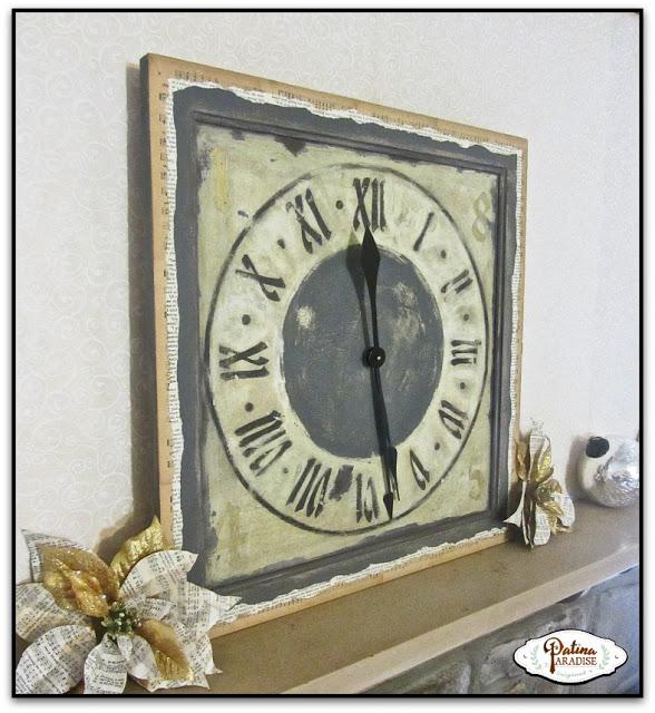 Cupboard Door Clock