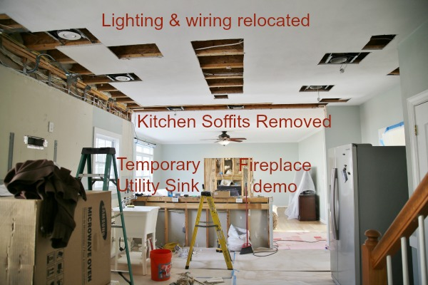 Kitchen demo progress
