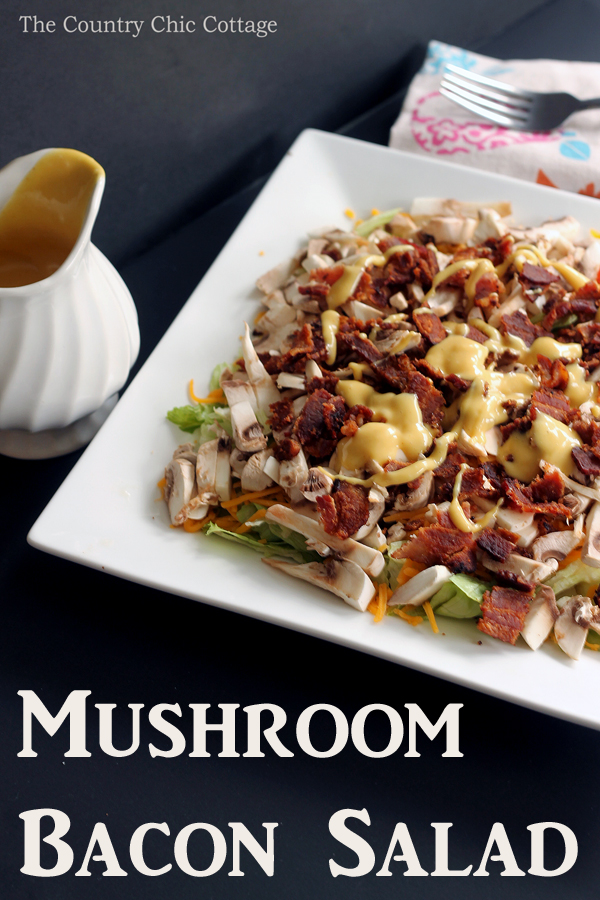mushroom-bacon-salad-recipe