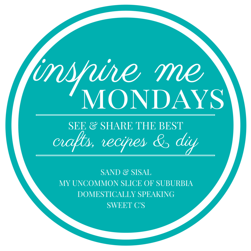 Inspire Me Monday Link Party logo