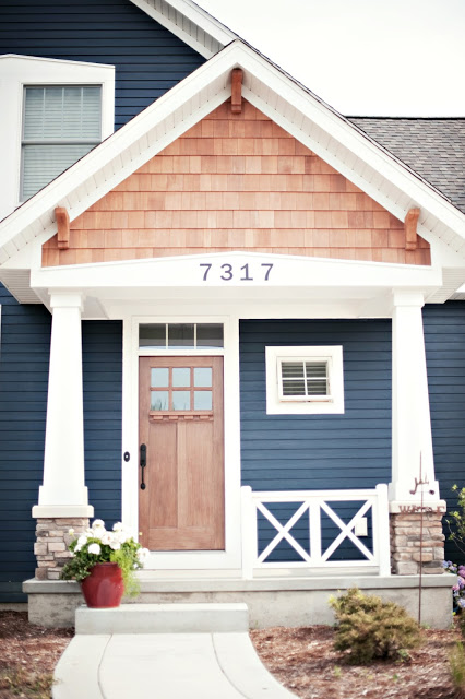 Tried and true nautical blue paint colors sand and sisal Brown exterior house paint schemes