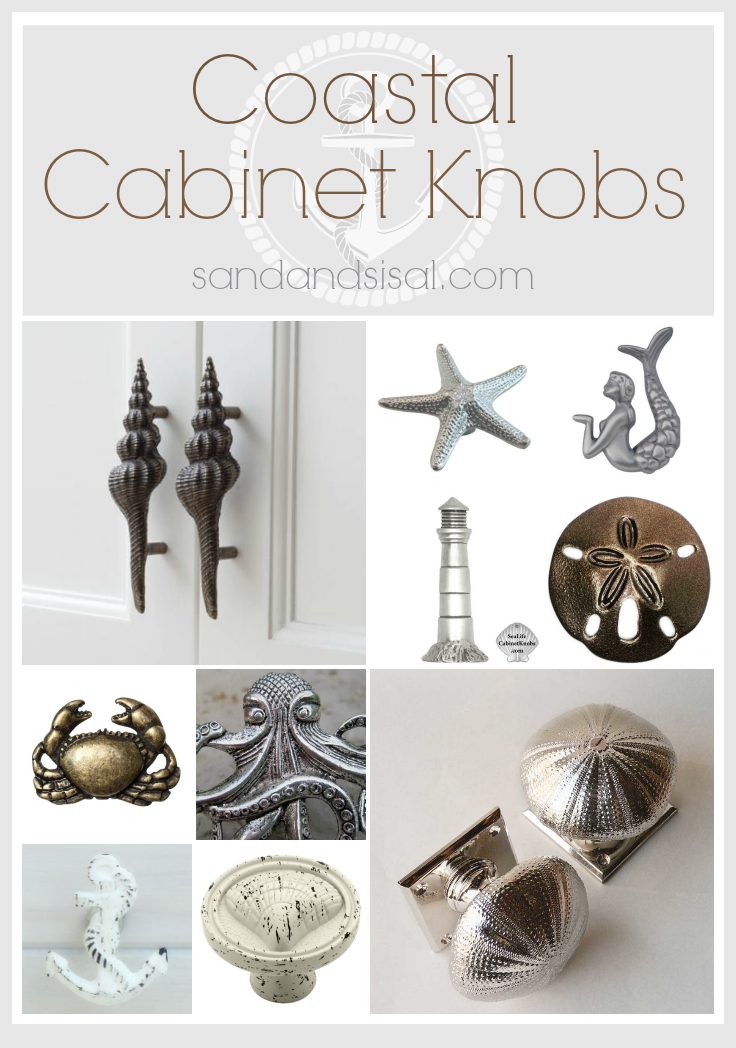 coastal cabinet knobs