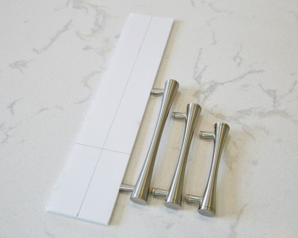 photograph regarding Free Printable Cabinet Hardware Template named Do it yourself Cupboard Components Template - Components Set up Produced Uncomplicated!
