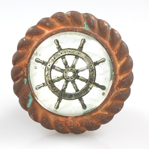 Nautical Knobs   Ships Wheel