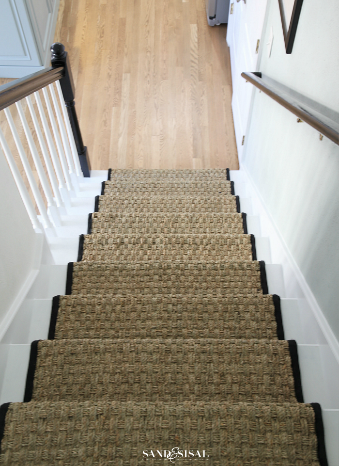 Sea Grass Stair Runner Tutorial