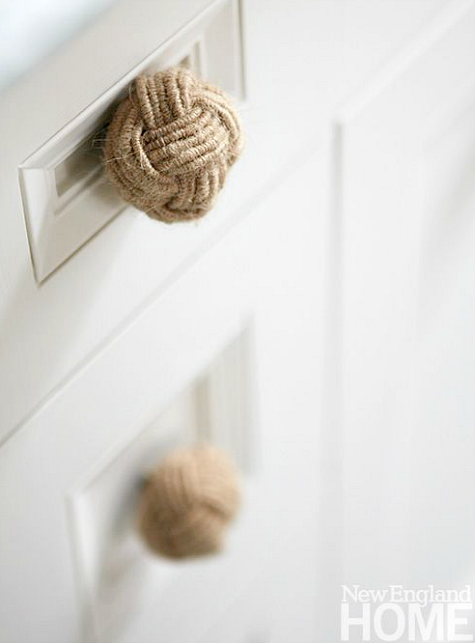 Monkey Fist Rope Knobs