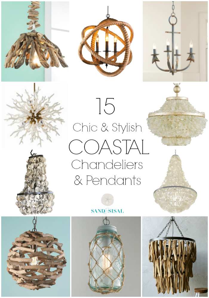 15 chic coastal chandeliers and pendants 15 coastal chandeliers and pendants aloadofball Gallery