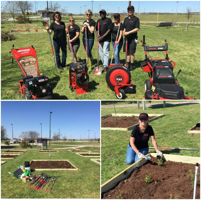 Planting a Community Garden - Troybilt's Saturday 6 Blogging Team