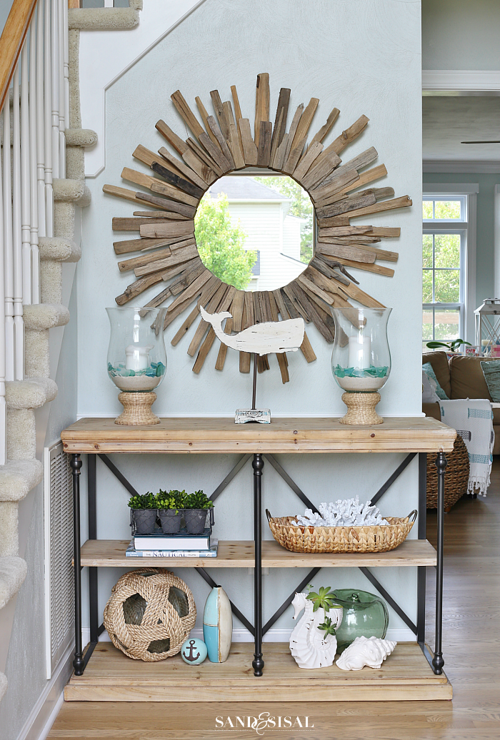 4 simple ways to create a welcoming entryway for Small beach house decorating ideas
