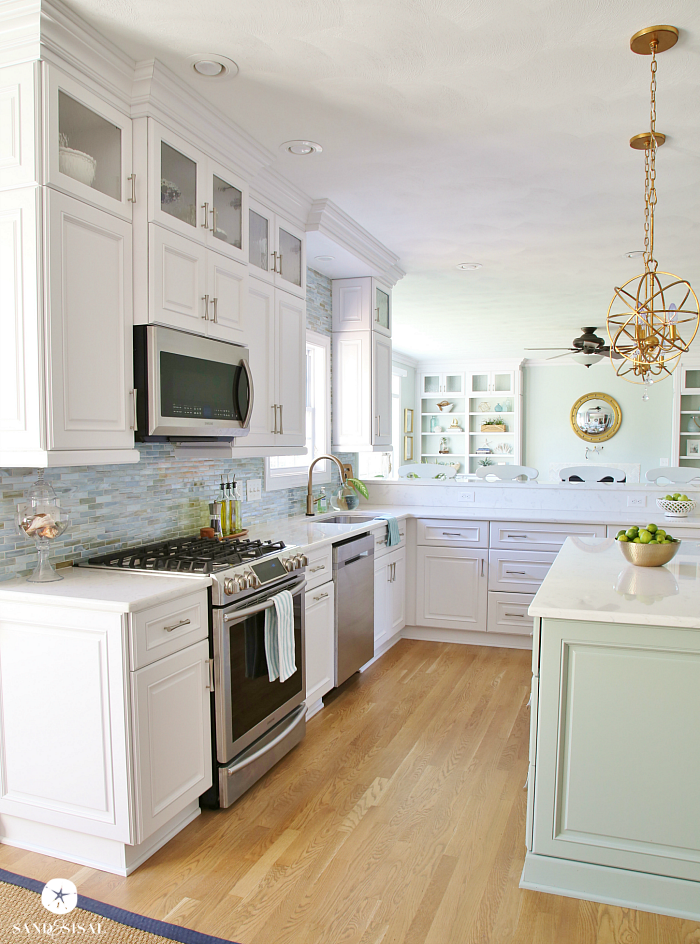 Kitchen Island Coastal