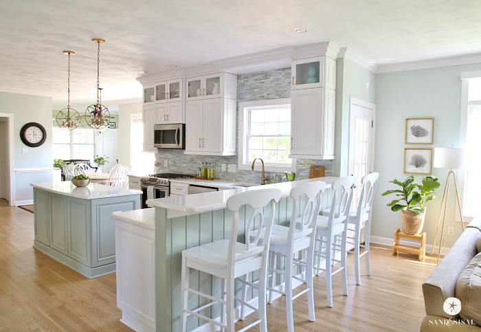 Coastal Kitchen Makeover The Reveal