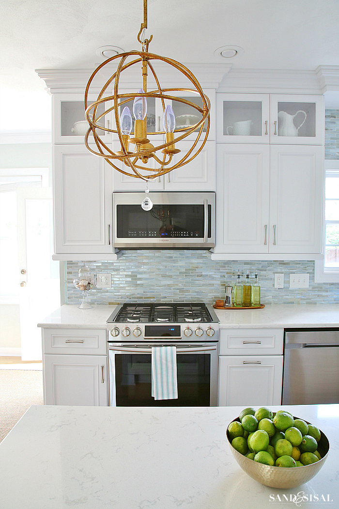 White Coastal Kitchen