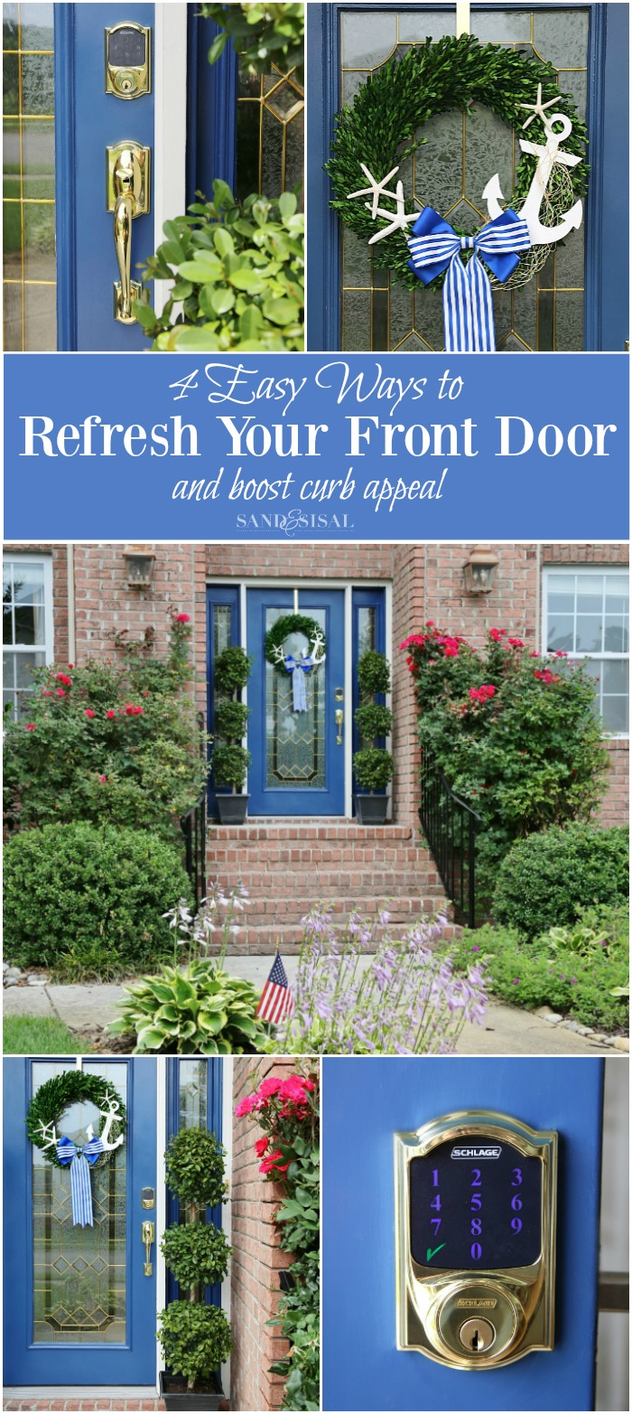 4 Easy Ways to Refresh Your Front Door and Boost Curb Appeal
