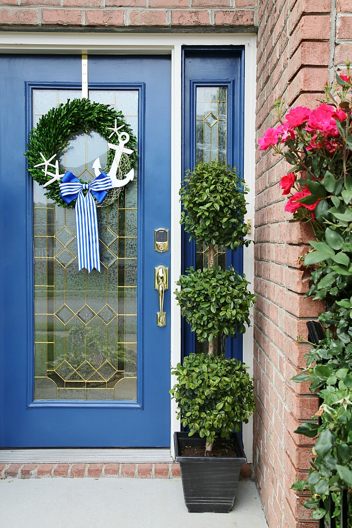 4 Ways to Refresh Your Front Door - Coastal Home