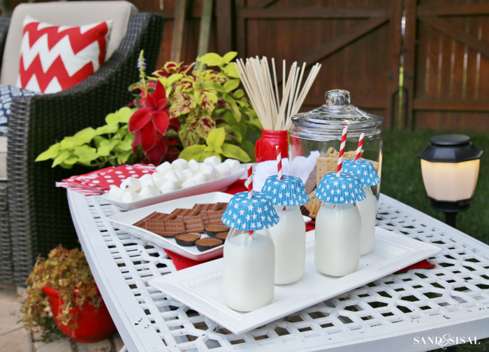 4th of July S'mores Bar