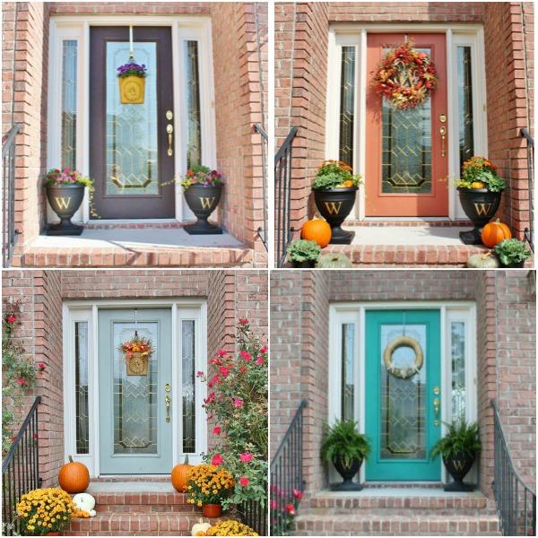 Beautiful Choosing A Front Door Part - 5: Choosing Front Door Colors