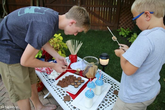 Family Fun - S'mores Bar