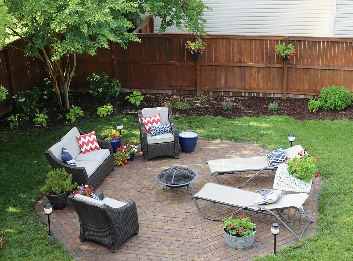 Patio Makeover + Mosquito Repellent Outdoor Lighting System