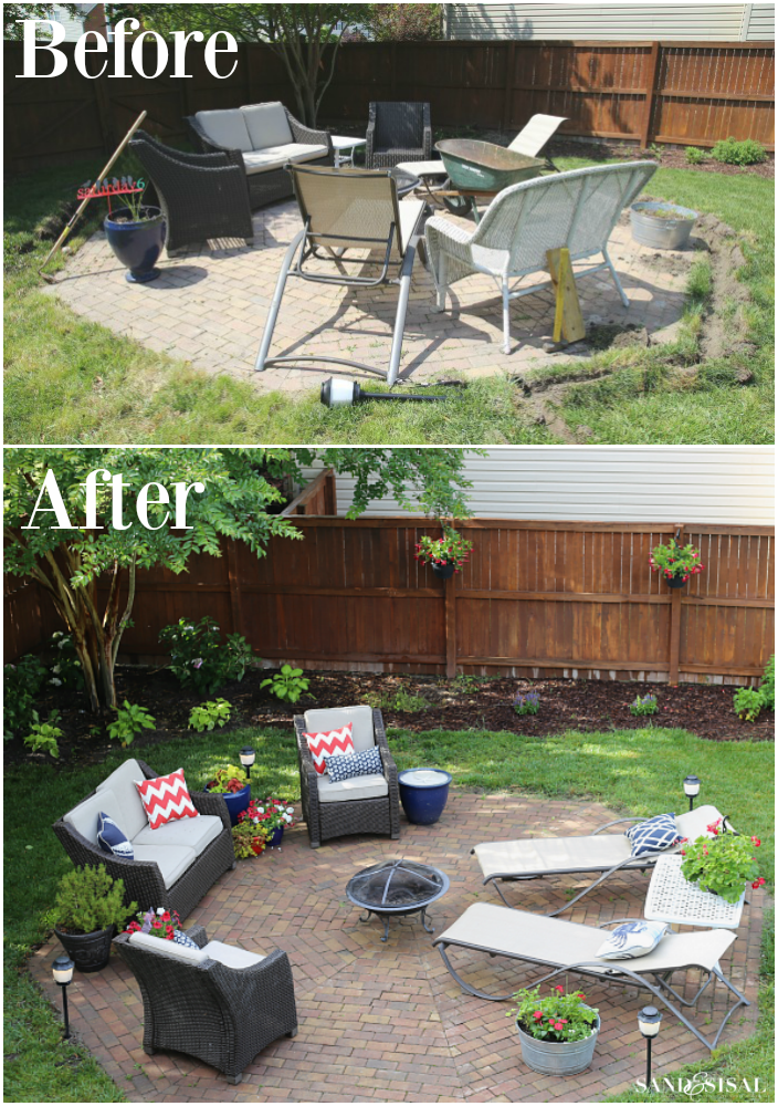 Patio Makeover with Mosquito Repellent Outdoor Lighting - Patio Makeover + Mosquito Repellent Outdoor Lighting System