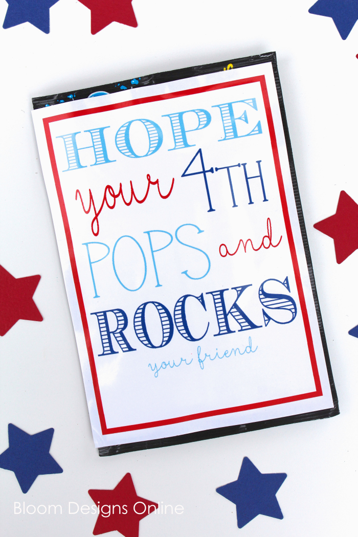Pop Rocks Printable